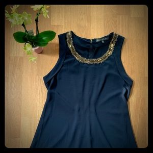Beautiful Brixon Ivy top. Medium navy.